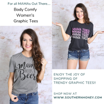 Shop Elegant Women's Graphic Tees From Southern Clothing Boutiques