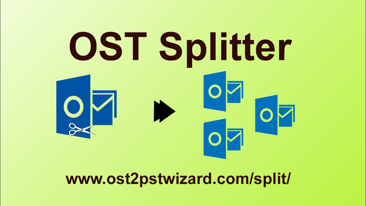 OST Splitter Wizard to Split OST file