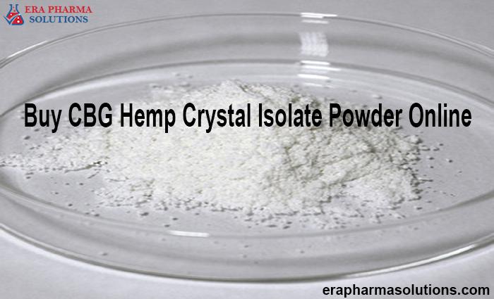 Buy CBG Hemp Crystal Isolate Powder Online