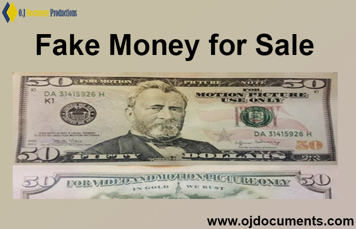 Fake Money for Sale