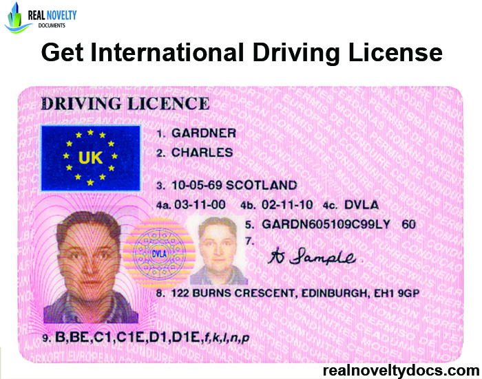Get International Driving License