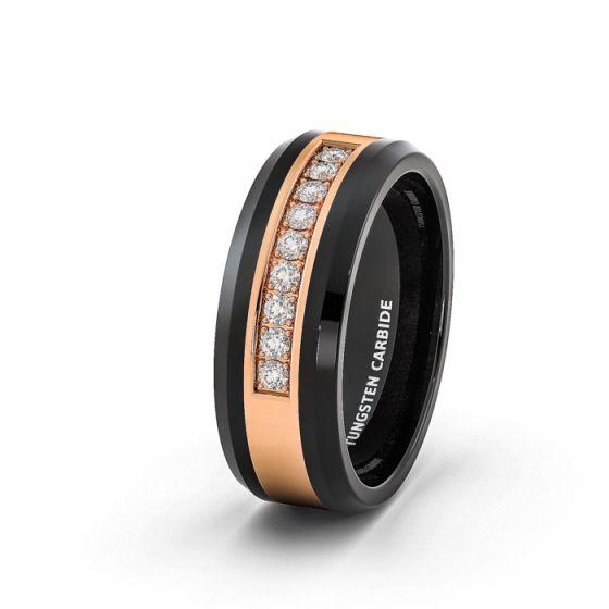 Men Wedding Tungsten Bands Online by American Tungsten