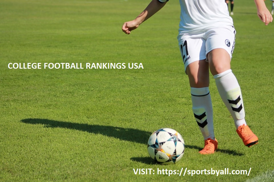 News Update On College Football Rankings USA