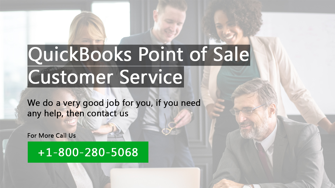 Quickbooks Point Of Sale helpline number dial today +1-800-280-5068