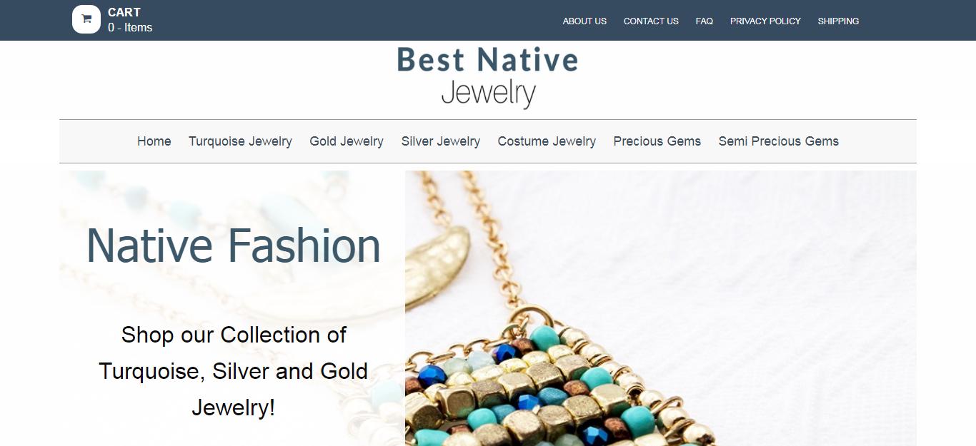 Native American Gold Jewelry