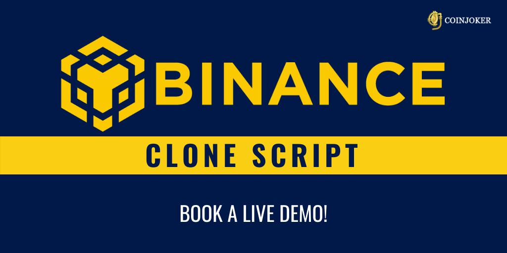 Binance Clone Script Development   Coinjoker