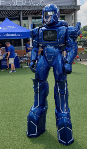 Big Blue Robot