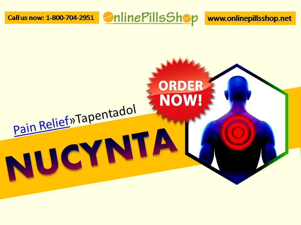 Pain killers (Tapentadol) available here – Onlinepillsshop.net