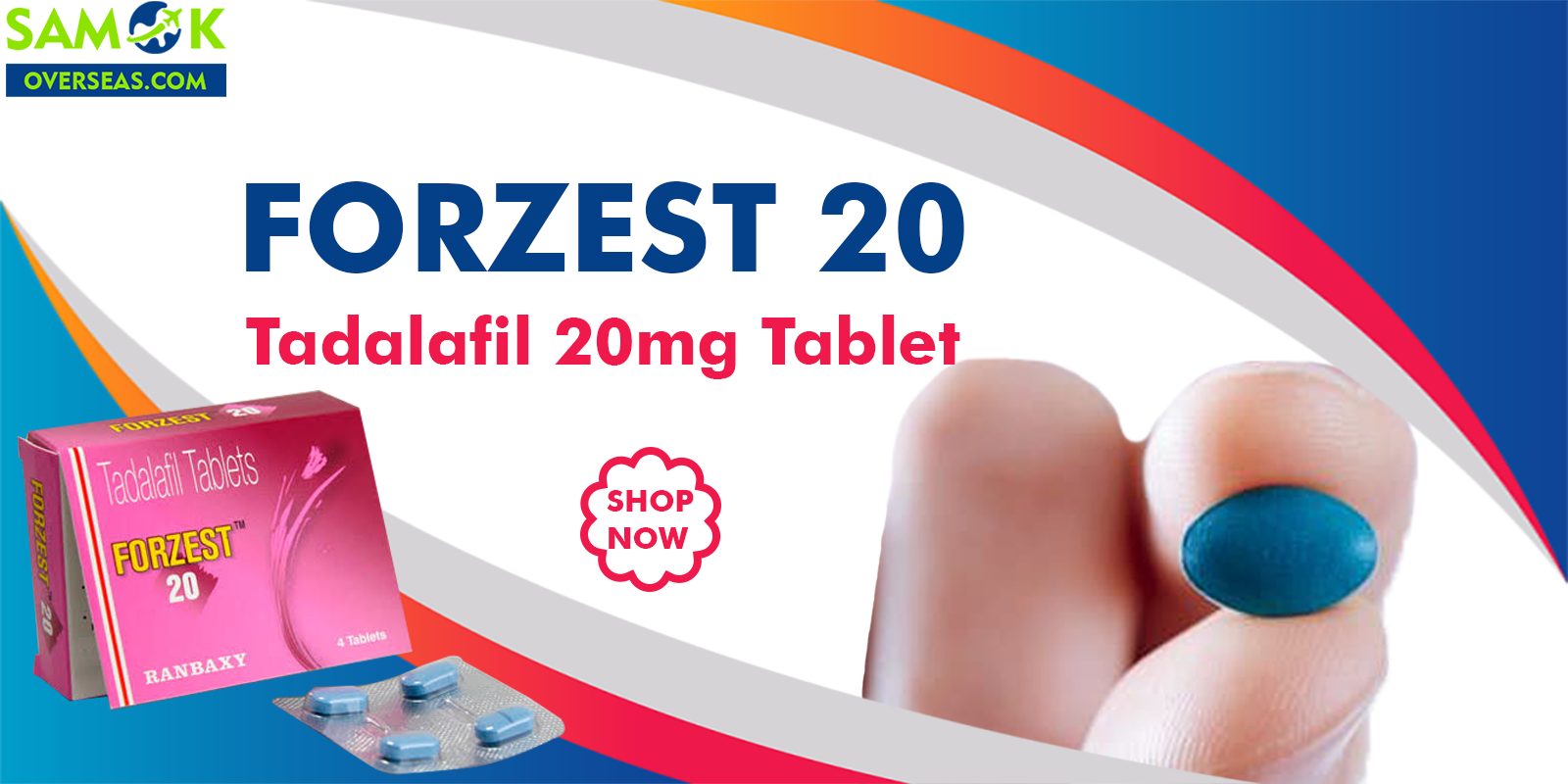 Buy Forzest 20 mg Tablets online