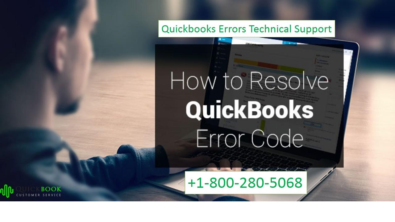 QuickBooks Error Support | +1-800-280-5068| 24/7 Support