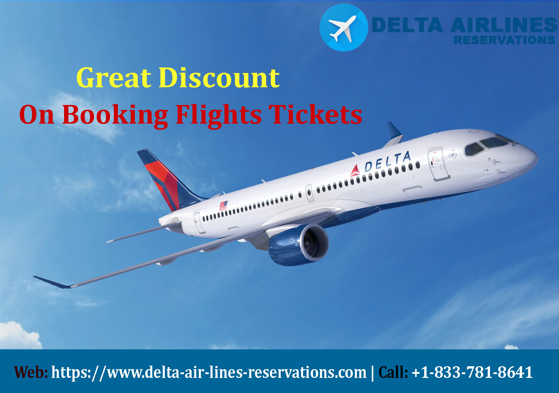 Delta Airlines Reservations | 1-833-781-8641 Official Site