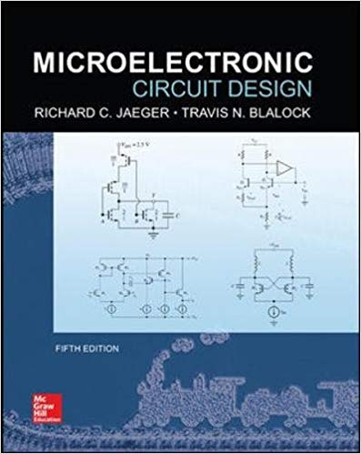 Microelectronic circuit design 5th Edition Solutions Manual
