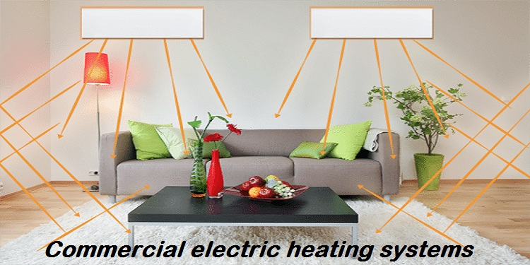 Commercial electric heating systems