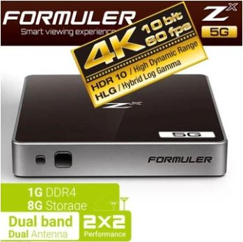 Formuler ZX 5G Dualband WiFi shop online –  Free Shipping anywhere in USA & Canada