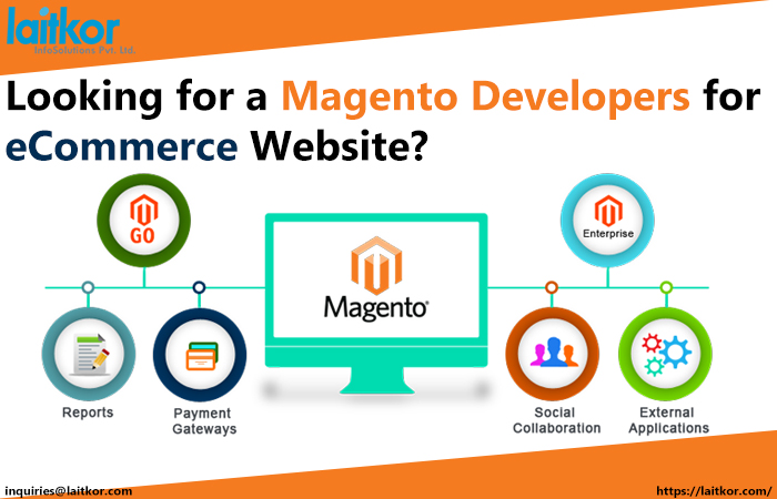 Looking for a Magento Developers for eCommerce Website?