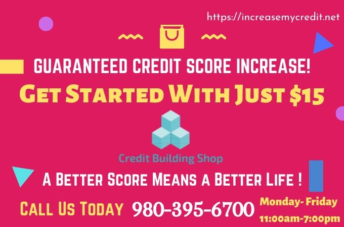 GUARANTEED CREDIT SCORE INCREASE!
