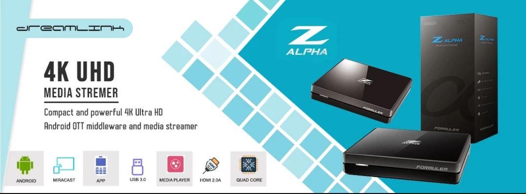 Formuler Z Alpha Dual Band WiFi online – USA & Canada – Free Shipping