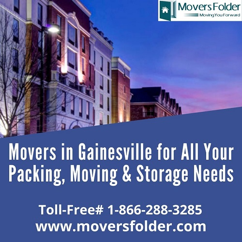 Movers in Gainesville for Packing, Moving & Storage Needs