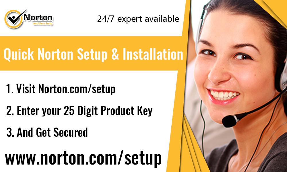 Norton.com/setup – Enter Product Key – Activate Norton Setup