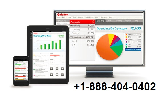 Quicken Accounting Software +1-888-404-0402! 24/7 Support.