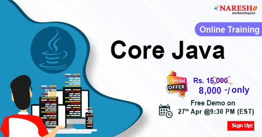 Core Java Online Training In USA