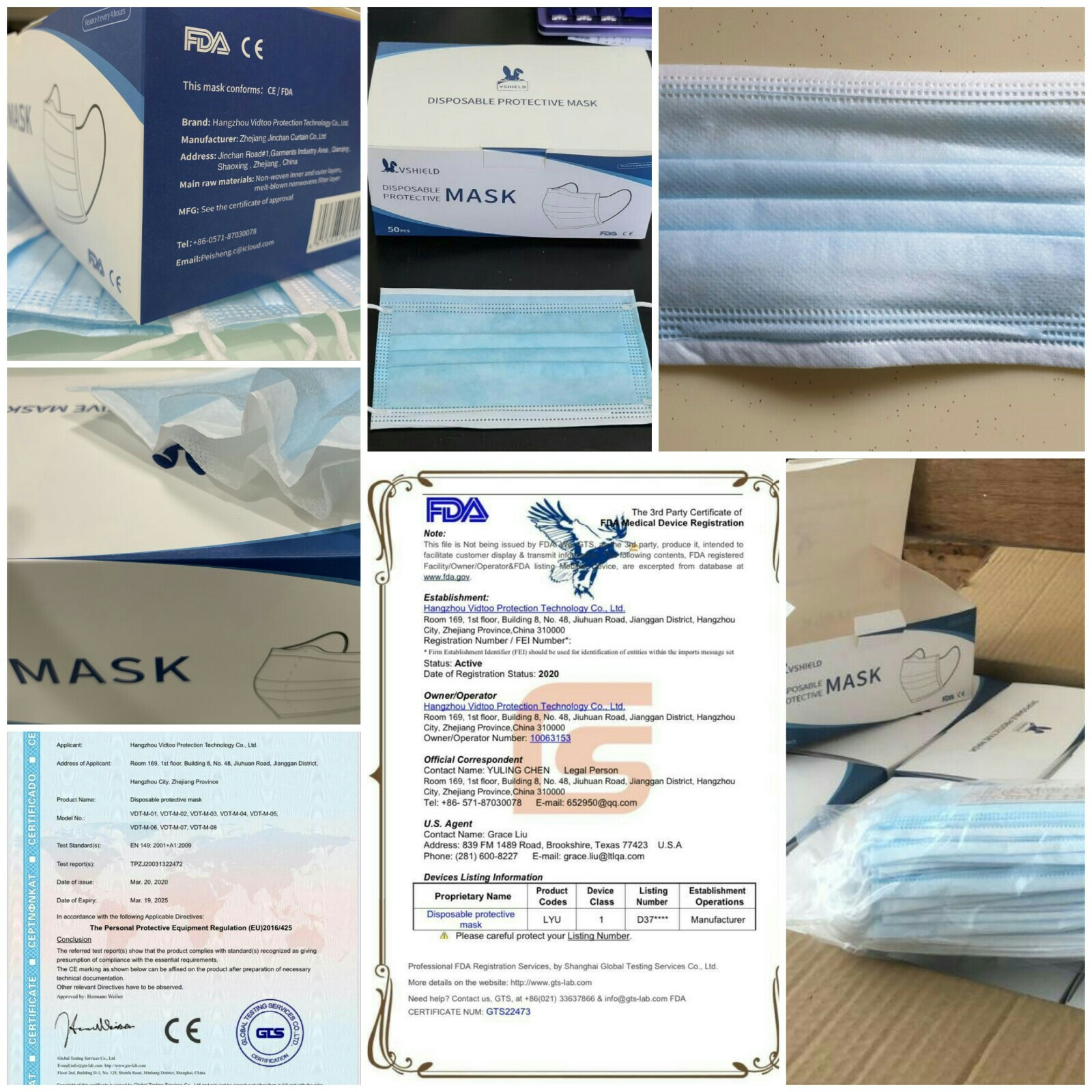 High Quality Surgical Mask (Express Shipping from Singapore)