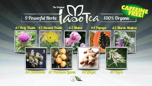 All natural detox tea