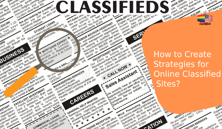 How to Create Strategies for Online Classified Sites?