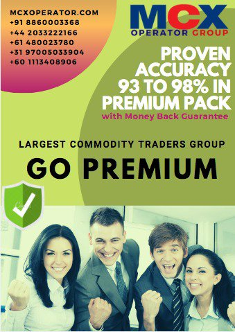 Get Free Intraday Tips with MCX Operator