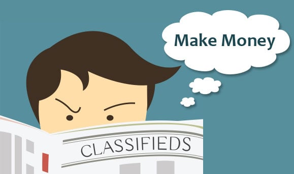 Simple ways to make money through Online Classified Sites