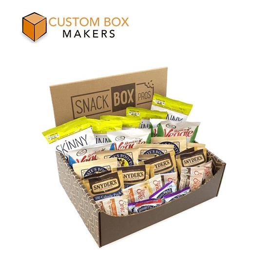 Custom Printed Snack Boxes