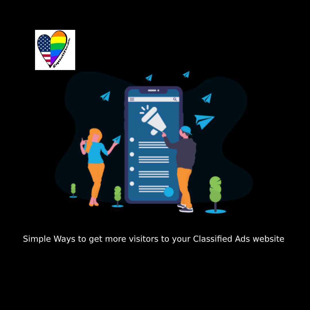 Simple Ways to get more visitors to your Classified Ads website